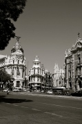 Business District, Madrid, Spain.